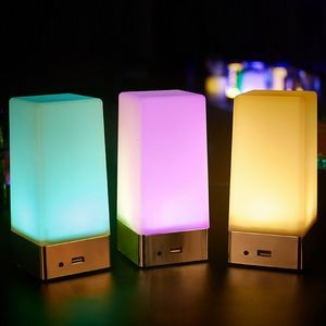 Quadrate Night Light with 3000 mAh Power Bank